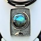 Naszyjniki biżuteria,srebro,naszyjniki,wisiory,labradoryt