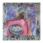 Obrazy anioł,aniołek,kot,koty,skrzydła,na ścianę,dziecko