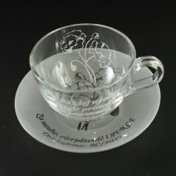 filiżanki,nauczyciel,dedykacja - Ceramika i szkło - Wyposażenie wnętrz