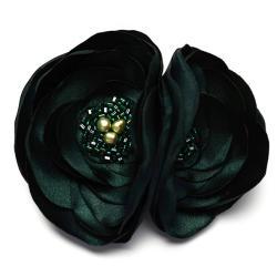 broszka,elegancka,romantyczna,satyna, - Broszki - Biżuteria