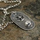 Naszyjniki nieśmiertelnik,naszyjnik,biżuteria męska