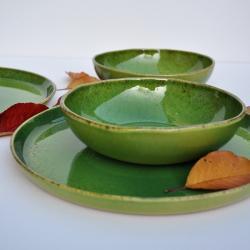 ceramika hand made,talerz,miska,miseczka - Ceramika i szkło - Wyposażenie wnętrz