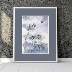 kwiatki,kwiaty,miniatura,prezent,na ścianę, - Ilustracje, rysunki, fotografia - Wyposażenie wnętrz