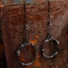 Kolczyki długie kolczyki srebrne