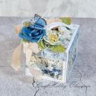 Kartki okolicznościowe ślub,exploding box,kwiaty,tort,torcik