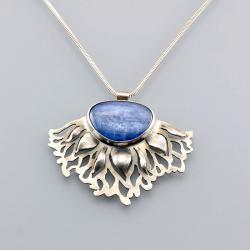 wisior z kianitem,Marina Noske,wisior z kolibrem - Wisiory - Biżuteria