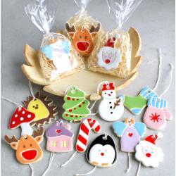 zawieszki świąteczne,renifer,aniołek,choinka - Ceramika i szkło - Wyposażenie wnętrz