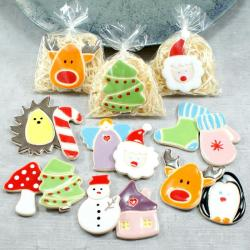 magnes świąteczny,bałwan,mikołaj,jeżyk - Ceramika i szkło - Wyposażenie wnętrz
