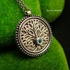 Naszyjniki nehesi,naszyjnik,wisior,drzewo zycia,srebrny