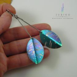 tytan,kolczyki,hipoalergiczne,ręcznie wykonane - Kolczyki - Biżuteria