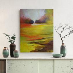 łąka,akryl,obraz - Obrazy - Wyposażenie wnętrz