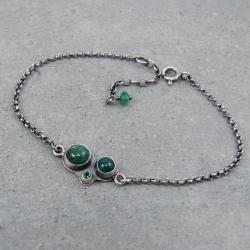 delikatna,minimalistyczna,naturalna,dziewczęca - Bransoletki - Biżuteria
