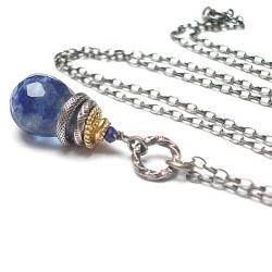 elegancki,kamienie,minerały - Naszyjniki - Biżuteria