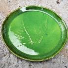 Ceramika i szkło ceramika hand made,patera,talerz,skrzyp polny