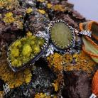 Naszyjniki aillilstudio,roślinny,wiosenny,organiczny