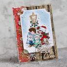 Kartki okolicznościowe boże narodzenie,kolędnicy,gloria,święta