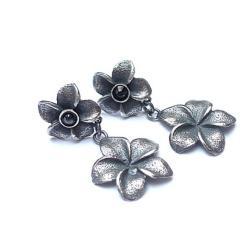 romantyczne,kwiaty - Kolczyki - Biżuteria