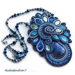 elegancki,błyszczący,efektowny,niecodzienny - Naszyjniki - Biżuteria