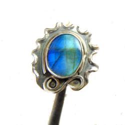 piercień art-deco - Pierścionki - Biżuteria