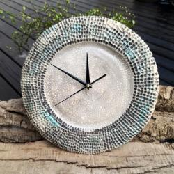 zegar na scianę,zegar scienny,zegar ceramiczny - Zegary - Wyposażenie wnętrz