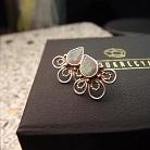 Kolczyki srebrne kolorowe kolczyki