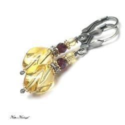 eleganckie,kamienie,minerały - Kolczyki - Biżuteria