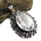 Wisiory kryształ,retro,srebrny,unikat,królewski,retro