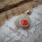 Charms charms,koronka,srebro