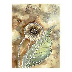 łąka,na ścianę,prezent,dmuchawce,obraz,pejzaż, - Ilustracje, rysunki, fotografia - Wyposażenie wnętrz