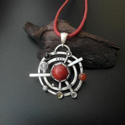 wisior,magiczny,rękodzieło,fiann,unikat - Wisiory - Biżuteria
