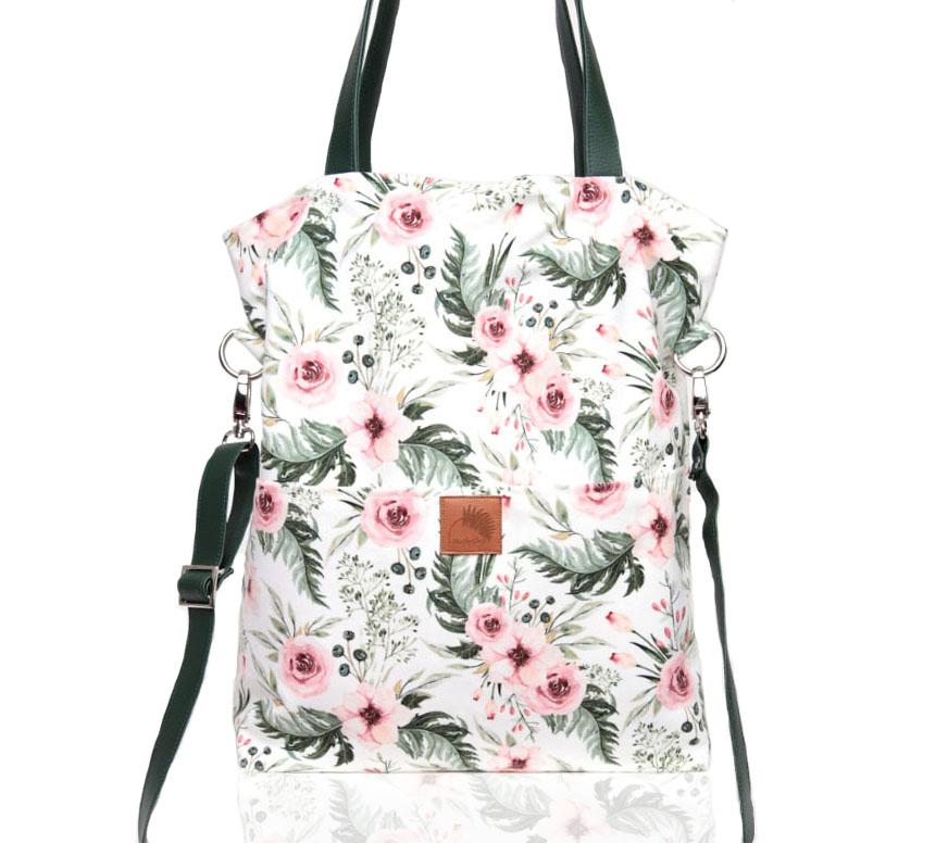 9c4eafacf7639 torba w kwiaty,torebka na ramię,torba na lato - Na ramię - Torebki w ...