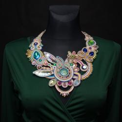 naszyjnik sutasz,duży naszyjnik - Naszyjniki - Biżuteria