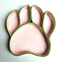 miska,ceramika,psia łapa - Ceramika i szkło - Wyposażenie wnętrz