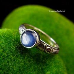 nehesi,pierścionek,srebrny,pierscionek,kianitem - Pierścionki - Biżuteria