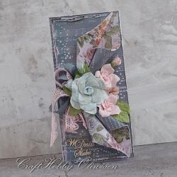 ślub,kwiaty,w dniu ślubu,koronki - Kartki okolicznościowe - Akcesoria