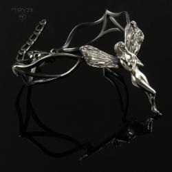 bransoletka z elfką,elficka bransoletka - Bransoletki - Biżuteria