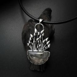 magiczne grzyby,wisior,biżuteria,grzybki,fiann - Wisiory - Biżuteria