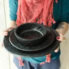 Ceramika i szkło ceramika,kamionka,talerz