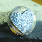 Pierścionki pierścionek srebro,motyw,faktura,serce,repus