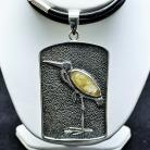 Naszyjniki biżuteria,srebro,wisiory,naszyjniki,ptaki