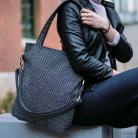 Na ramię prostokątna torebka,torba do pracy,