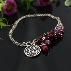 bransoletka,biżuteria na lato,naturalne minerały - Bransoletki - Biżuteria