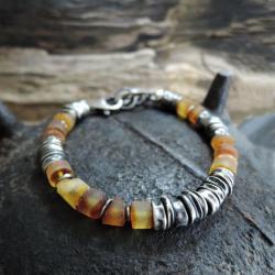bursztyn,amber,surowy - Bransoletki - Biżuteria