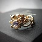 Pierścionki pierścionek zaręczynowy z tanzanitem