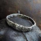 Bransoletki srebro,kute,surowe