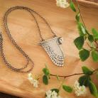 Naszyjniki wisior sowa,płomykówka,srebrny naszyjnik,