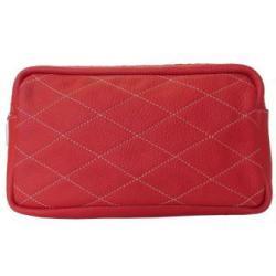 torebka nerka,torebka czerwona,skórzana torebka - Na ramię - Torebki