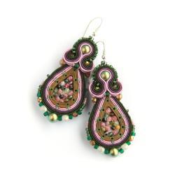 kolczyki z turmalinami - Kolczyki - Biżuteria