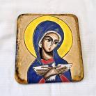 Ceramika i szkło Beata Kmieć,ikona ceramiczna,ikona,Pneumatofora