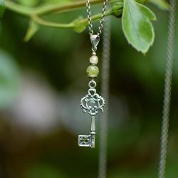 Naszyjnik z kluczem do tajemniczego ogrodu - Naszyjniki - Biżuteria